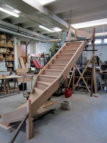 realizzazione scale da interno in legno | Nimis | Udine |