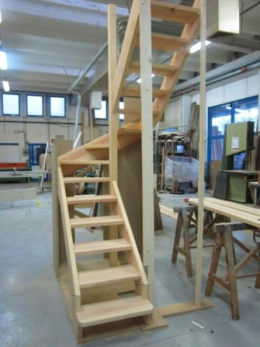 realizzazione chiavi in mano scale in legno | Nimis | Udine