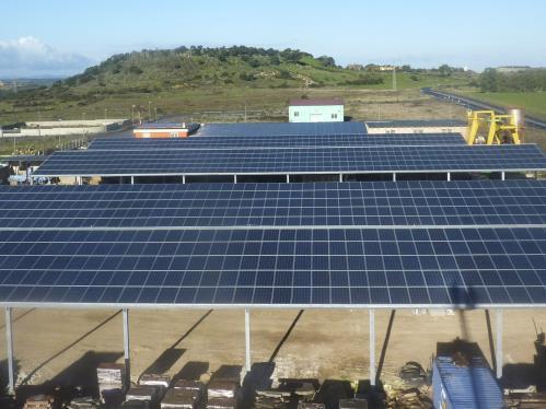 Strutture per impianti fotovoltaici