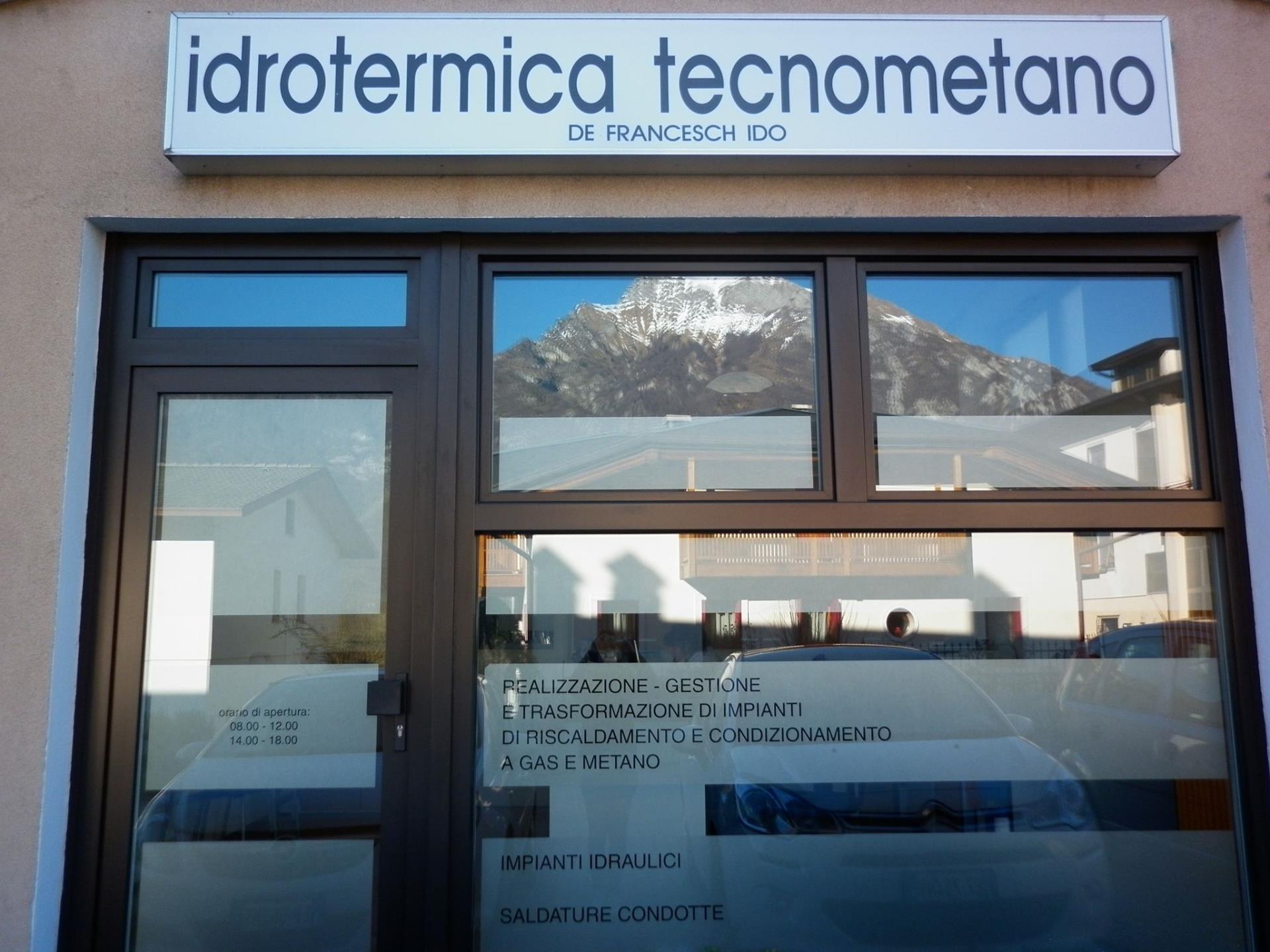 Idrotermica Tecnometano di De Francesch Ido sede operativa