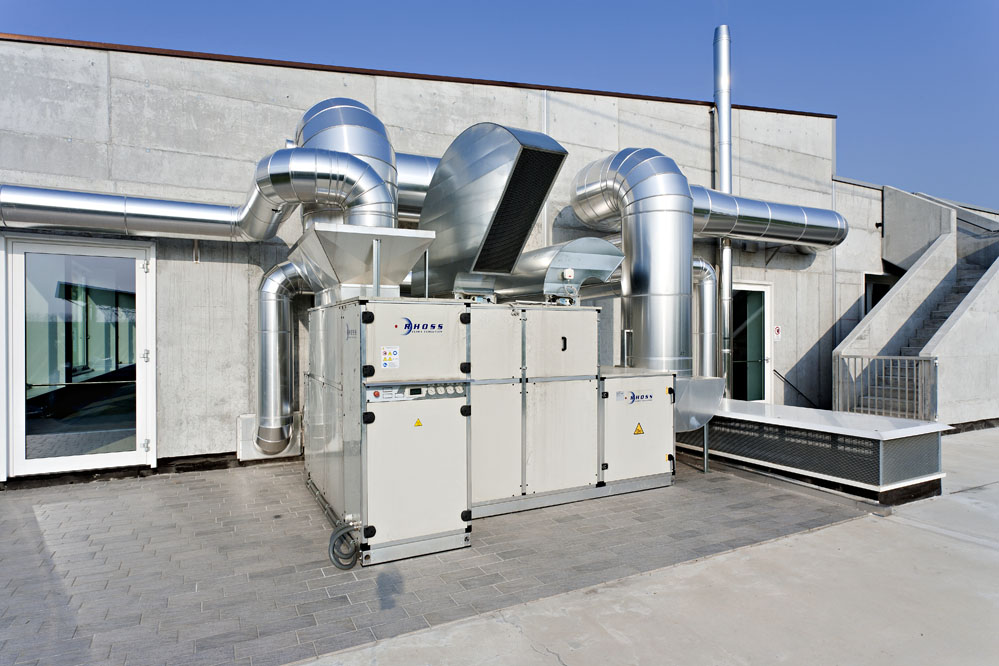 heating and plumbing systems in the industrial sector in Treviso