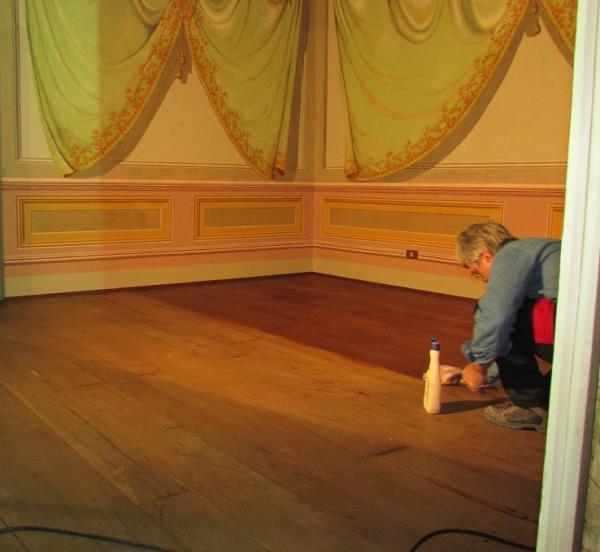 ceratura pavimentazione in legno
