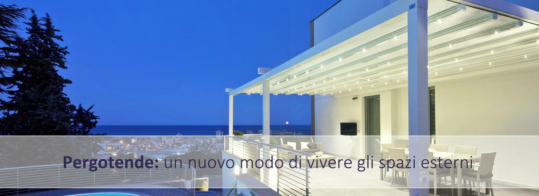 pergotende blue tende Ardea Torvaianica Pomezia Anzio Nettuno