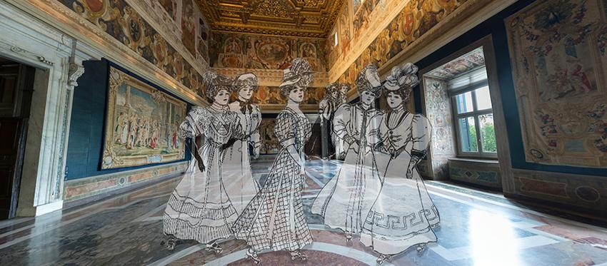 restauro interni d'epoca roma