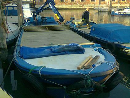 barca per trasporti