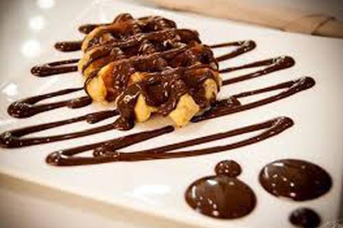 Waffle con nutella