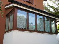 verande in alluminio e alluminio-legno