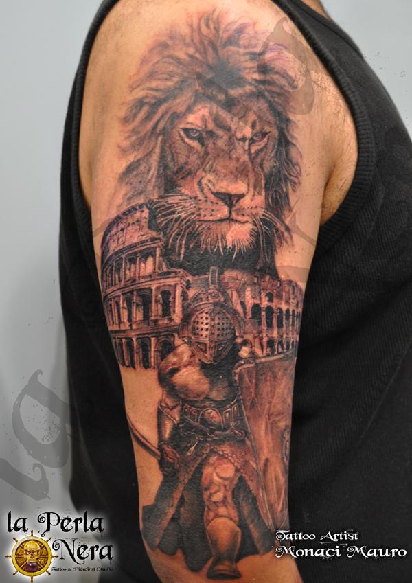 tattoo Mauro Monaci Perla Nera Tattoo Roma Prati