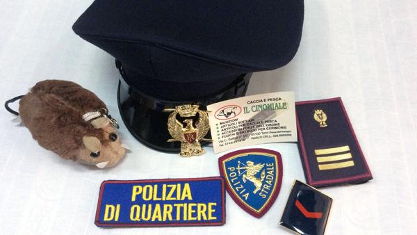 accessori forze dell'ordine