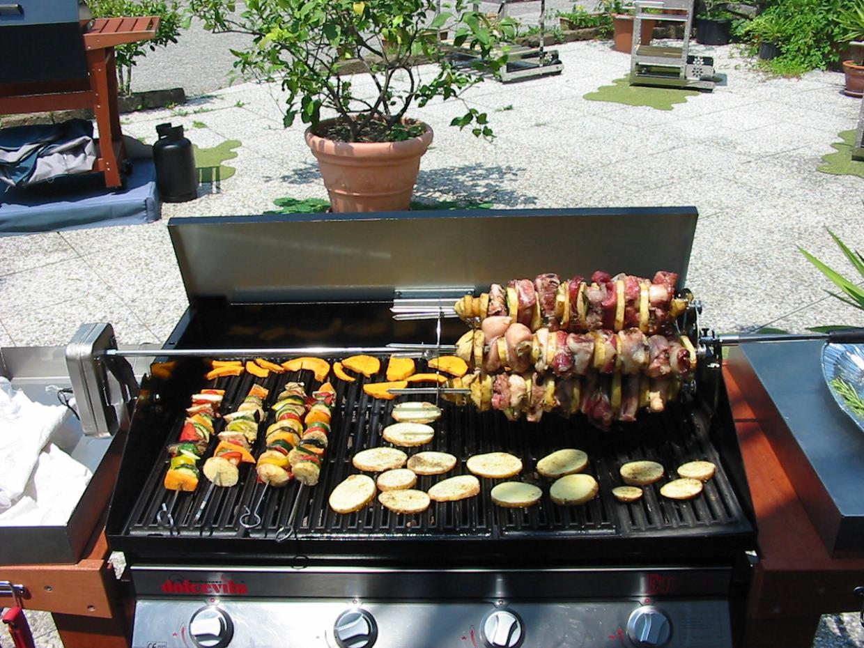 barbecue a gas lago di garda bs