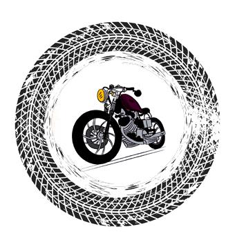 Gommista moto