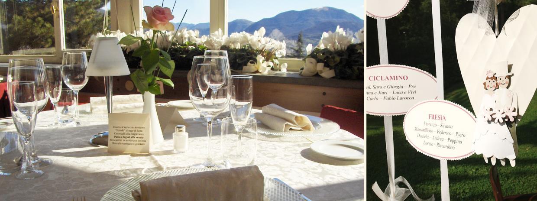 ristorante cerimonie