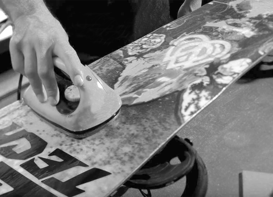 manutenzione snowboard Viterbo