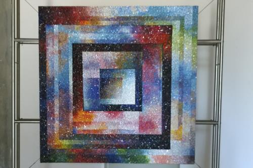 creazione mosaico e metallo