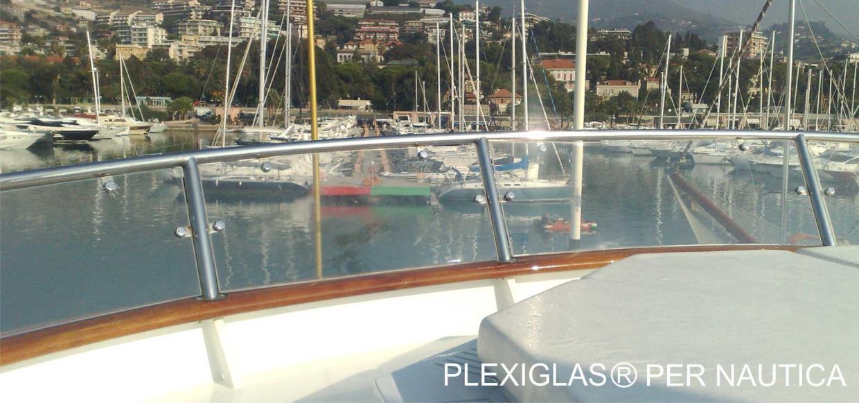 Lavorazione Plexiglass Plexiglas per Nautica Sanremo Imperia Liguria Costa Azzurra