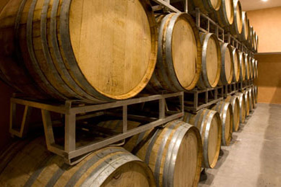 Verkauf Wein vom Fass Perugia