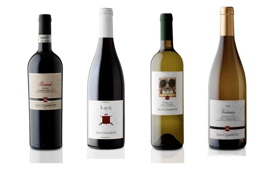 Produktion von Qualitätsweinen aus Perugia