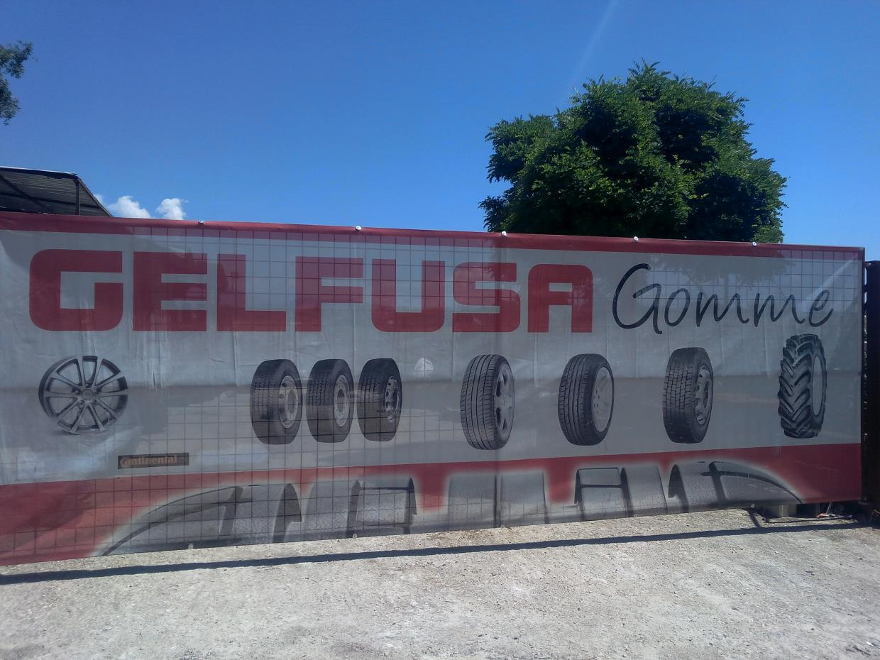 insegna gelfusa gomme