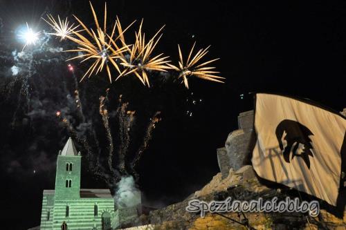 fuochi d'artificio per celebrazioni La Spezia