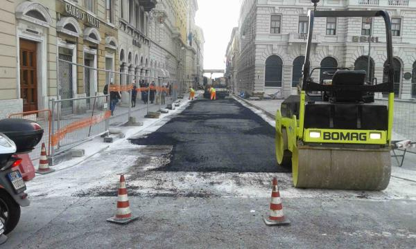 rifacimenti stradali Trieste