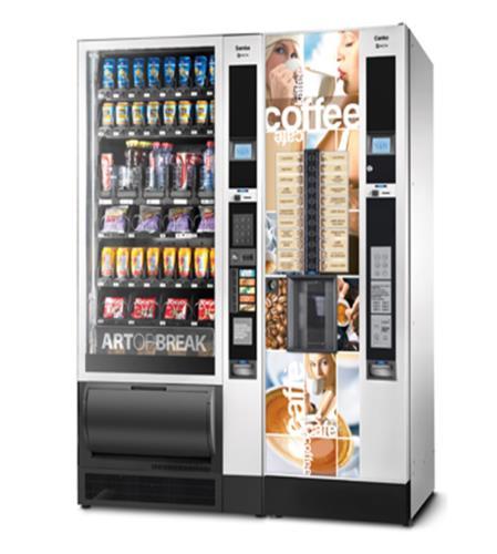 CANTO + SAMBA distributore automatico per grandi aziende o comunità