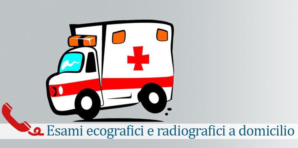 Esami radiografici ed ecografici a domicilio radiologica pavia Roma