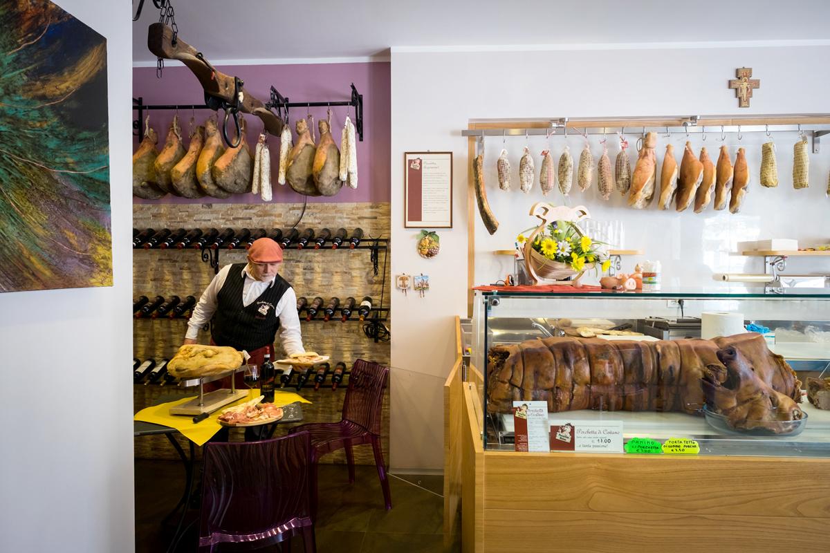 negozio gastronomia Assisi Perugia
