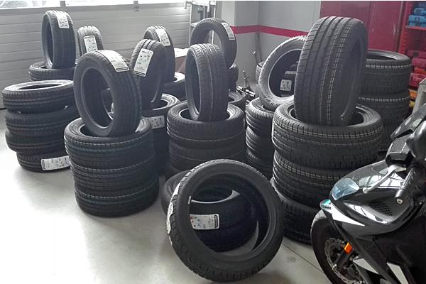 montaggio ed equilibratura pneumatici