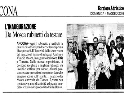 inaugurazione showroom mosca