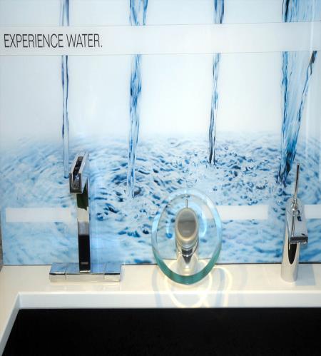 esposizione rubinetti