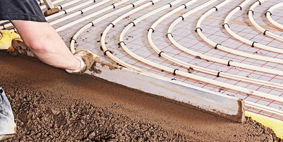 riscaldamento a pavimento installazione Viterbo