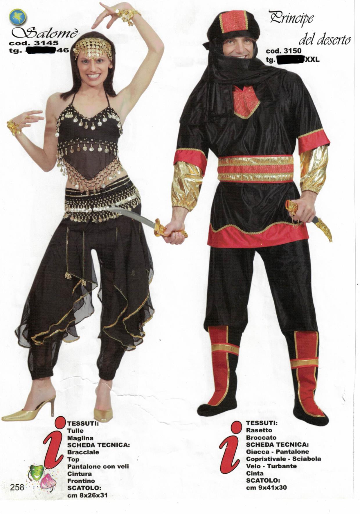 Noleggio vestiti da Orientali Adulti UD | Noleggio vestiti da Orientali Adulti PN | Noleggio vestiti da Orientali Adulti San Vito al Tagliamento