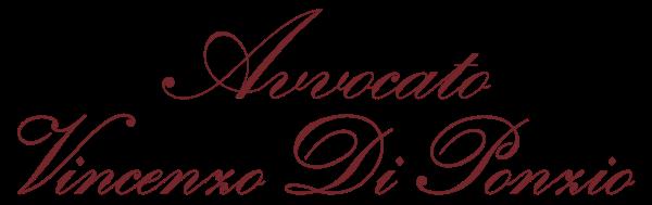 Avvocato Vincenzo Di Ponzio