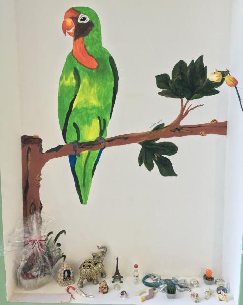 pappagallo disegno