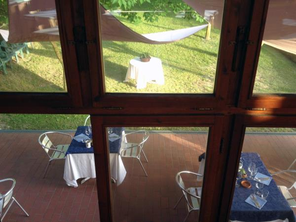 restaurant with open air places Terni