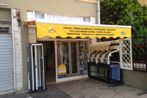 negozio di infissi Roma