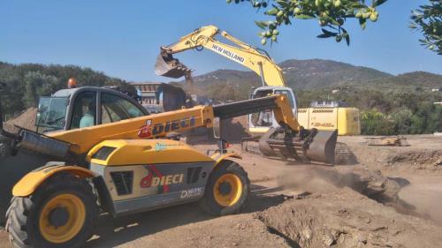 lavori stradali arzachena