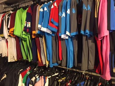 abbigliamento calcio saxon sport