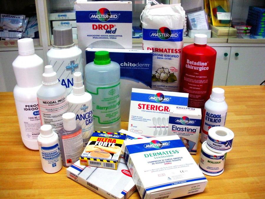 Prodotti per le medicazioni