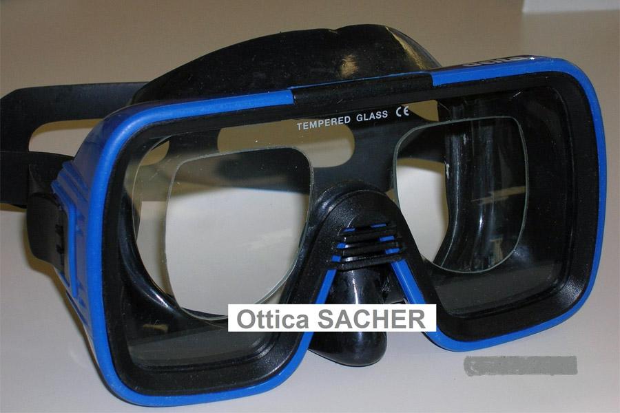 maschere subacquee correttive