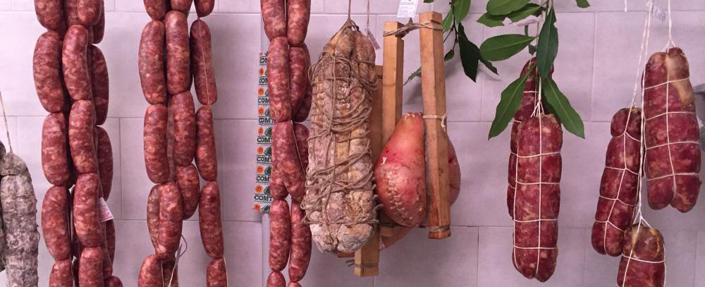 i tipi di carne