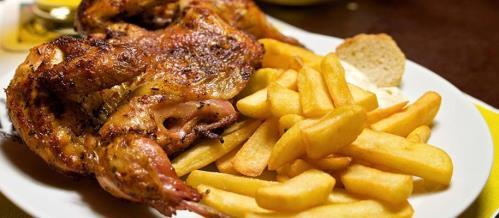 galletto allo spiedo con patate | Maron di Brunera | Pordenone