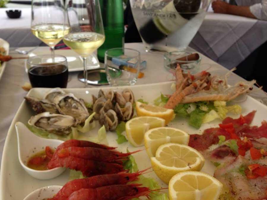 menù pesce