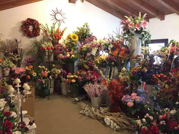 vendita fiori sintetici Treviso
