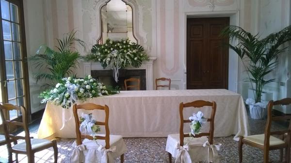 addobbi chiesa matrimonio Treviso