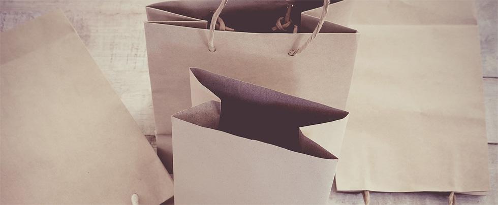 shopper bag di carta