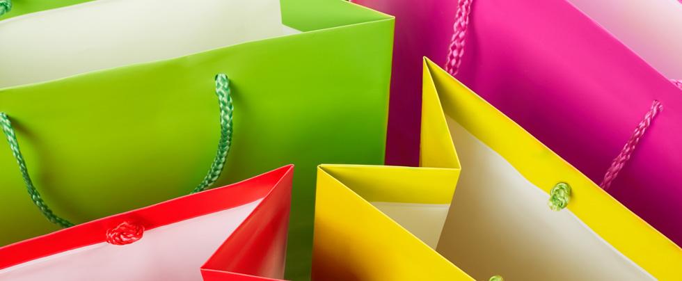 shopper di plastica