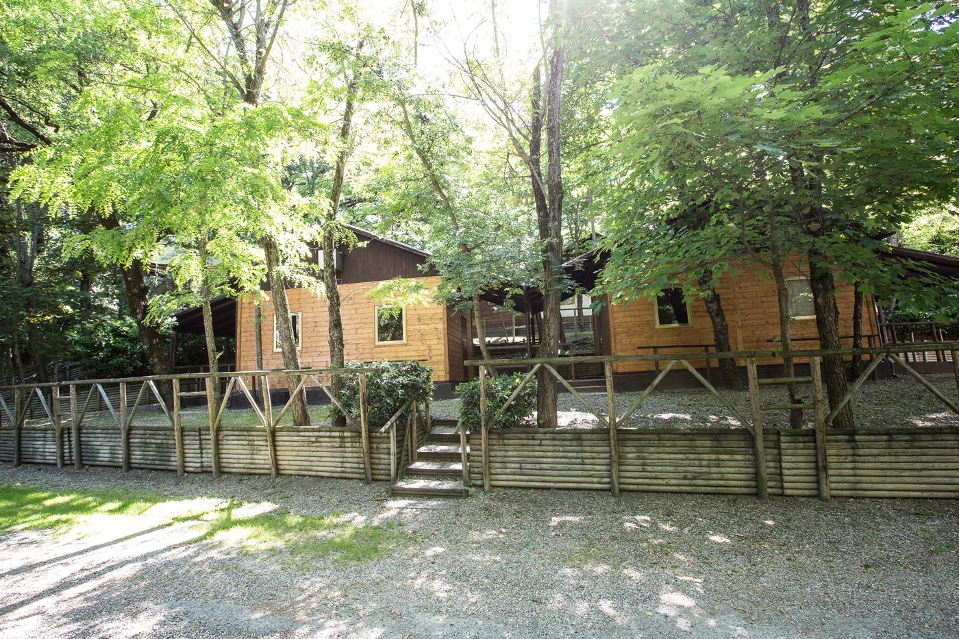 ingresso camping Pontegobbo