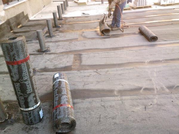 impermeabilizzazione con guaine - edili - isolamenti con manti in PVC e TPO