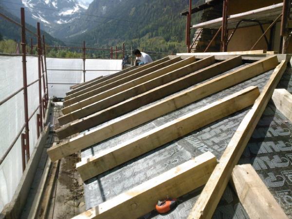 posa compensato fenolico, realizzazione tetti, copertura tetti, isolamento termico
